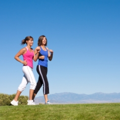 exercising to stay healthy
